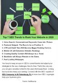 Top 7 SEO Trends to Rank Your Website in 2020 PowerPoint PPT Presentation