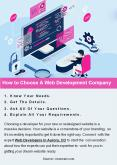 How to Choose A Web Development Company PowerPoint PPT Presentation
