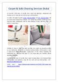 Carpet & Sofa Cleaning Services Dubai PowerPoint PPT Presentation