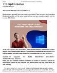 FIX Total Identified Windows Installations 0 PowerPoint PPT Presentation