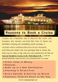 Reasons to Book a Cruise PowerPoint PPT Presentation