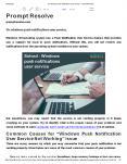 Fix windows push notifications user service PowerPoint PPT Presentation