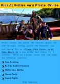 Kids Activities on Pirate Cruise PowerPoint PPT Presentation