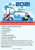 8 SEO Tips to Increase Organic Traffic to Your Website PowerPoint PPT Presentation