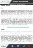 Propylene Prices,  Chart, Trend, Market & Analysis   ChemAnalyst PowerPoint PPT Presentation