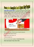 #Immigration through the Canada Express Entry Program PowerPoint PPT Presentation