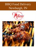 BBQ Food Delivery Newburgh, IN (1) PowerPoint PPT Presentation