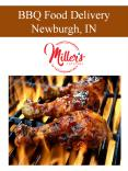 BBQ Food Delivery Newburgh, IN PowerPoint PPT Presentation