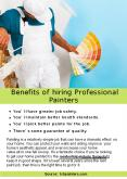Benefits of Hiring Professional Painters PowerPoint PPT Presentation