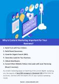 Why Is Content Marketing Important for Your Business? PowerPoint PPT Presentation
