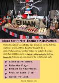 Ideas for Pirate-Themed Kids Parties PowerPoint PPT Presentation