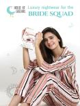 Luxury nightwear for the bride squad PowerPoint PPT Presentation