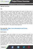 Polyol Price, News, Demand and Supply | ChemAnalyst PowerPoint PPT Presentation