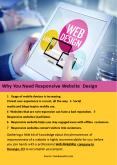 Why You Need Responsive Website Design PowerPoint PPT Presentation