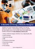 8 Benefits of Hiring a Website Designer PowerPoint PPT Presentation