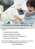 The Importance of Having the Right Business Logo PowerPoint PPT Presentation