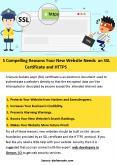 5 Compelling Reasons Your New Website Needs an SSL Certificate and HTTPS PowerPoint PPT Presentation