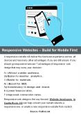 Responsive Websites – Build for Mobile First PowerPoint PPT Presentation