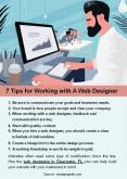 7 Tips for Working with A Web Designer PowerPoint PPT Presentation
