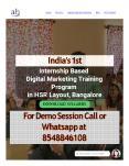 India's 1st Internship Based Digital Marketing Training Program in HSR Layout, Bangalore PowerPoint PPT Presentation