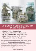 A BEGINNER'S GUIDE TO SAVING MONEY PowerPoint PPT Presentation