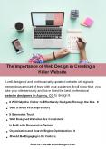 The Importance of Web Design in Creating a Killer Website PowerPoint PPT Presentation