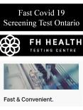 Fast Covid 19 Screening Test Ontario PowerPoint PPT Presentation