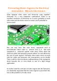 Preventing Water Ingress On Electrical Assemblies - Miracle Electronics PowerPoint PPT Presentation