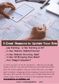 5 Great Reasons to Update Your Site PowerPoint PPT Presentation