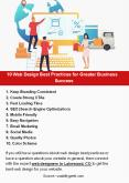 10 Web Design Best Practices for Greater Business Success PowerPoint PPT Presentation