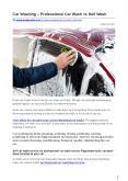 Car Washing – Professional Car Wash vs Self Wash PowerPoint PPT Presentation