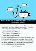 How Can Anchor Text Be Your Best Partner for Business Success? PowerPoint PPT Presentation