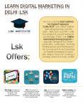 Advance Digital Marketing Institute in Delhi PowerPoint PPT Presentation