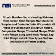 Nitech Stainless INC carbon Steel Flanges Manufacturer in India PowerPoint PPT Presentation
