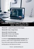 5 MODERN DESIGN ELEMENTS THAT WILL MAKE YOUR WEBSITE POP! PowerPoint PPT Presentation