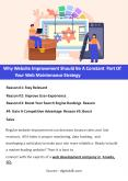 Why Website Improvement Should Be A Constant Part Of Your Web Maintenance Strategy PowerPoint PPT Presentation