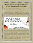 Steps to Improve Your Presentation and Design Thinking Skills in Singapore PowerPoint PPT Presentation