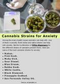 Cannabis Strains for Anxiety PowerPoint PPT Presentation