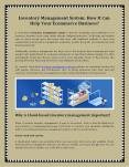Inventory Management System - How It Can Help Your Ecommerce Business PowerPoint PPT Presentation