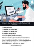5 Reasons Why You Should Hire a Professional Web Designer PowerPoint PPT Presentation