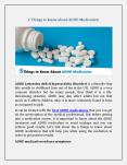 5 Things to know about ADHD Medication PowerPoint PPT Presentation