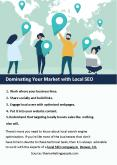 Dominating Your Market with Local SEO PowerPoint PPT Presentation