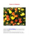 flower delivery philippines PowerPoint PPT Presentation