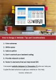 How to Design A Website: Tips and Considerations PowerPoint PPT Presentation