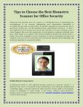 Steps to Choose the Best Biometric Scanner for Office Security PowerPoint PPT Presentation