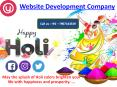 Website Development Agency | Happy Holi to All PowerPoint PPT Presentation