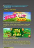 New Bingo Site UK Lady Love Bingo | 500 Free Spins on Fluffy Favourites PowerPoint PPT Presentation