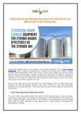 3 Essential Grain Storage Equipment for Storing Grains Effectively in the Storage Bin PowerPoint PPT Presentation