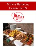 Millers Barbecue Evansville IN PowerPoint PPT Presentation