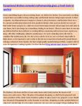 Quality renovation of the existing kitchen using the best designer craftsmanship PowerPoint PPT Presentation